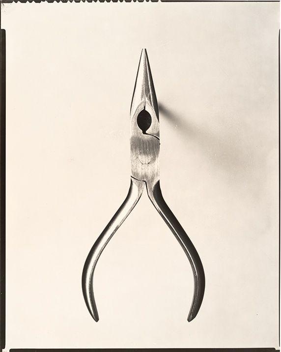 Walker Evans, Chain-Nose Pliers, 1955; gelatin silver print; The Bluff Collection; Walker Evans Archive, The Metropolitan Museum of Art, New York