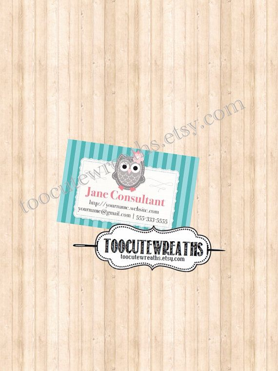 22 best cute owl business cards images on pinterest visit cards printable business card origami owl inspired this is for you angel colourmoves