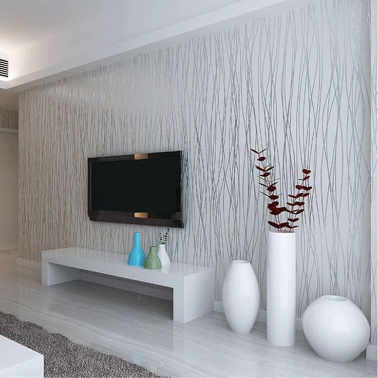 Aliexpress.com : Buy Non Woven Fashion Thin Flocking Vertical Stripes Wallpaper For Living Room Sofa Background Walls Home Wallpaper 3D Grey Silver from Reliable wallpaper kiss suppliers on Homeby Co., Ltd