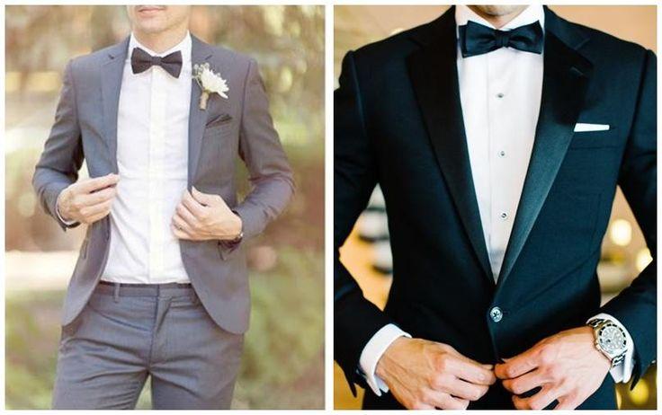 10 looks de novio con pajarita para bodas vintage