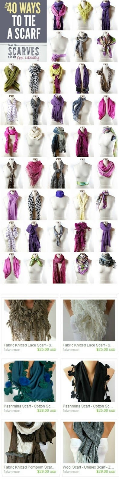 Scarf on ETSY (13.50 USD)--