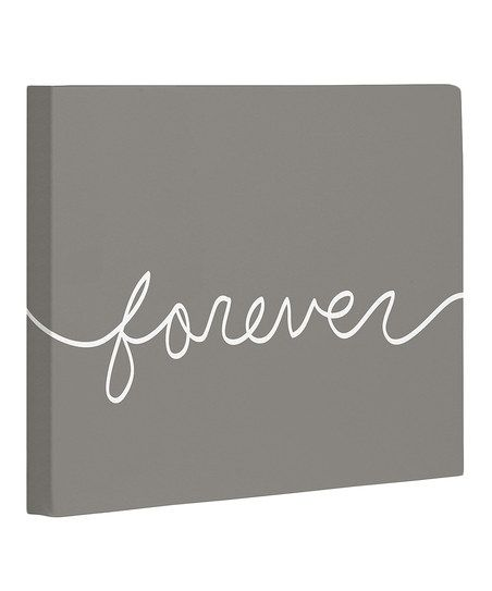 'Forever' Canvas