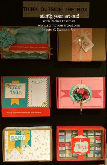 Fun ideas to do with your empty Paper Pumpkin boxes!… #stampyourartout #stampinup - Stampin' Up!® - Stamp Your Art Out! www.stampyourartout.com