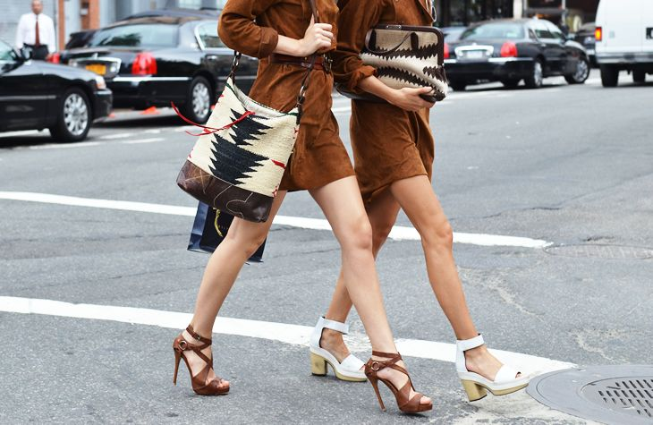 brownShoes, Earth Tone, Fashion Weeks, Girls Generation, Street Style, Accessories, Tribal Prints, Bags