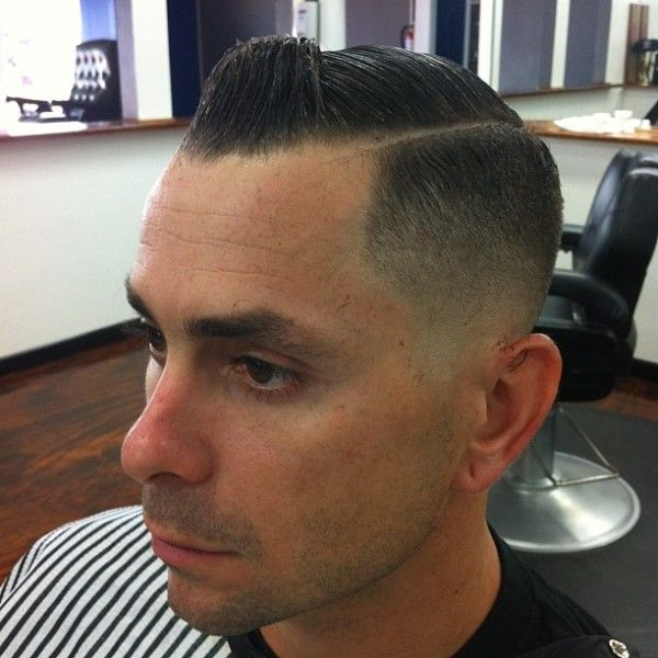 skin fade side part | Mens Cuts | Pinterest | Signs