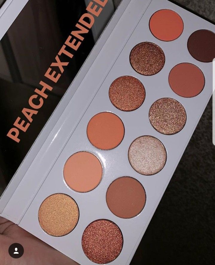 The Peach Extended Palette by Kylie Cosmetics #9