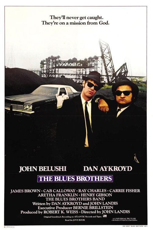The chase through the mall. The scene with Aretha Franklin. Every song. and this line-Elwood: It's a hundred and six miles to Chicago. We've got a full tank of gas, half a pack of cigarettes, it's dark, and we're both wearing sunglasses.   Jake: Hit it.