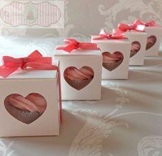 wedding favour cupcake - Google Search