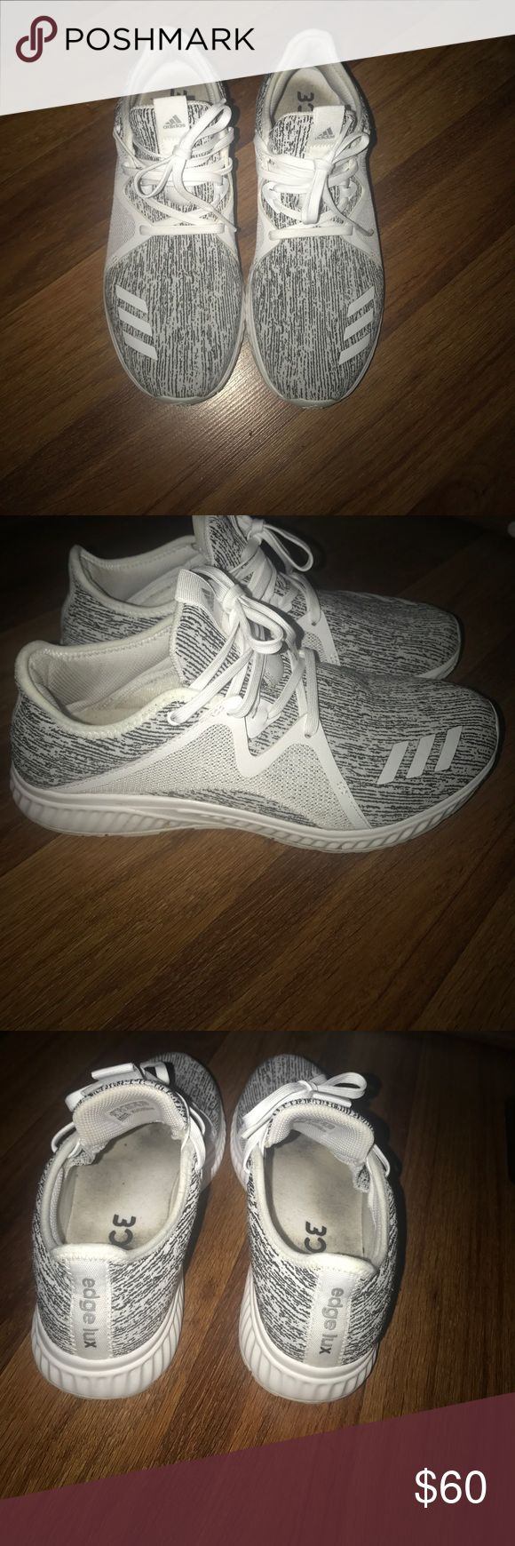 Adidas size 9 Adidas Bounce tennis shoes in great shape! Size 9. Black and white. adidas Shoes Sneakers