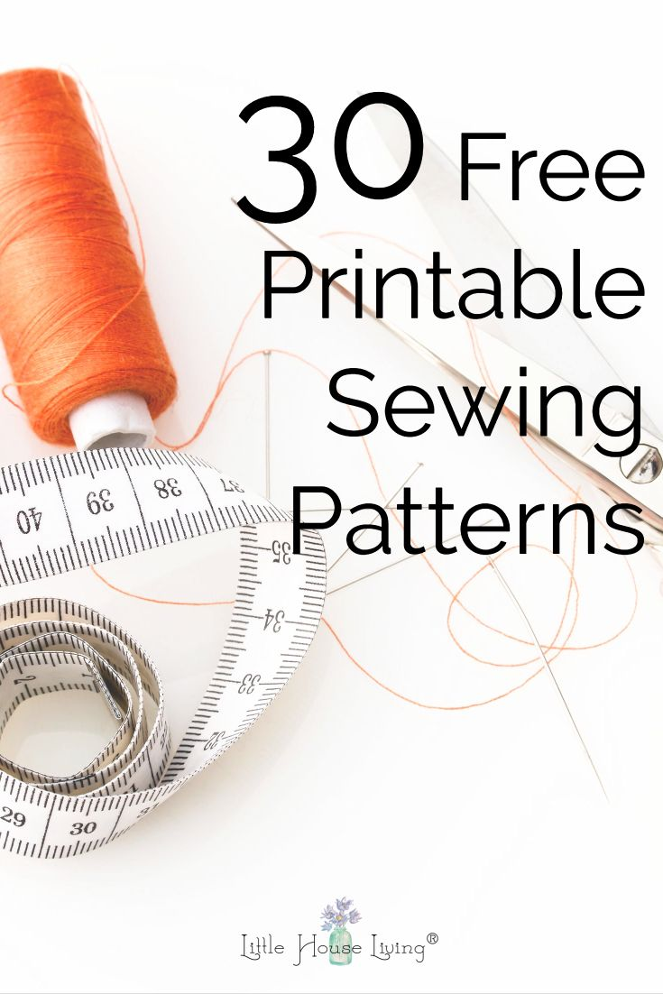 This is a picture of Smart Printable Sewing Patterns for Beginners