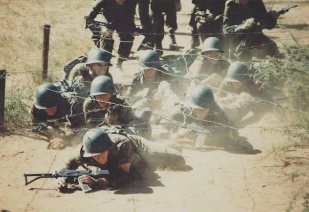 Lift your backside & it WILL be shot. Basic training.