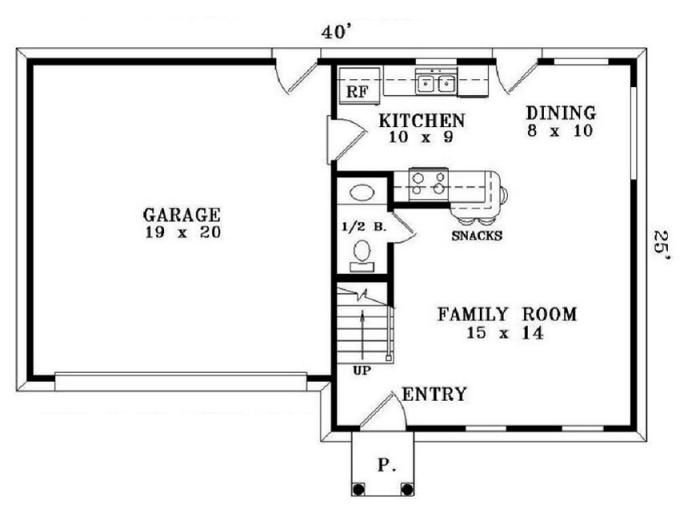 Simple Colonial House Plans | The 25 Best Simple Floor Plans Ideas On Pinterest Simple House