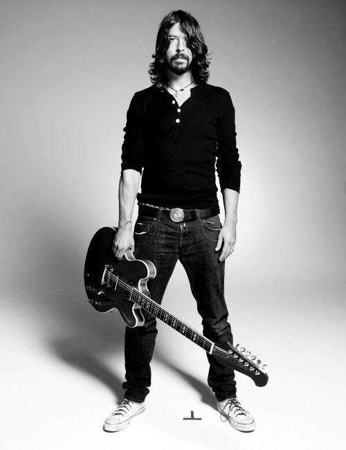 Dave Grohl. Divorce your wife, marry me. Seriously.
