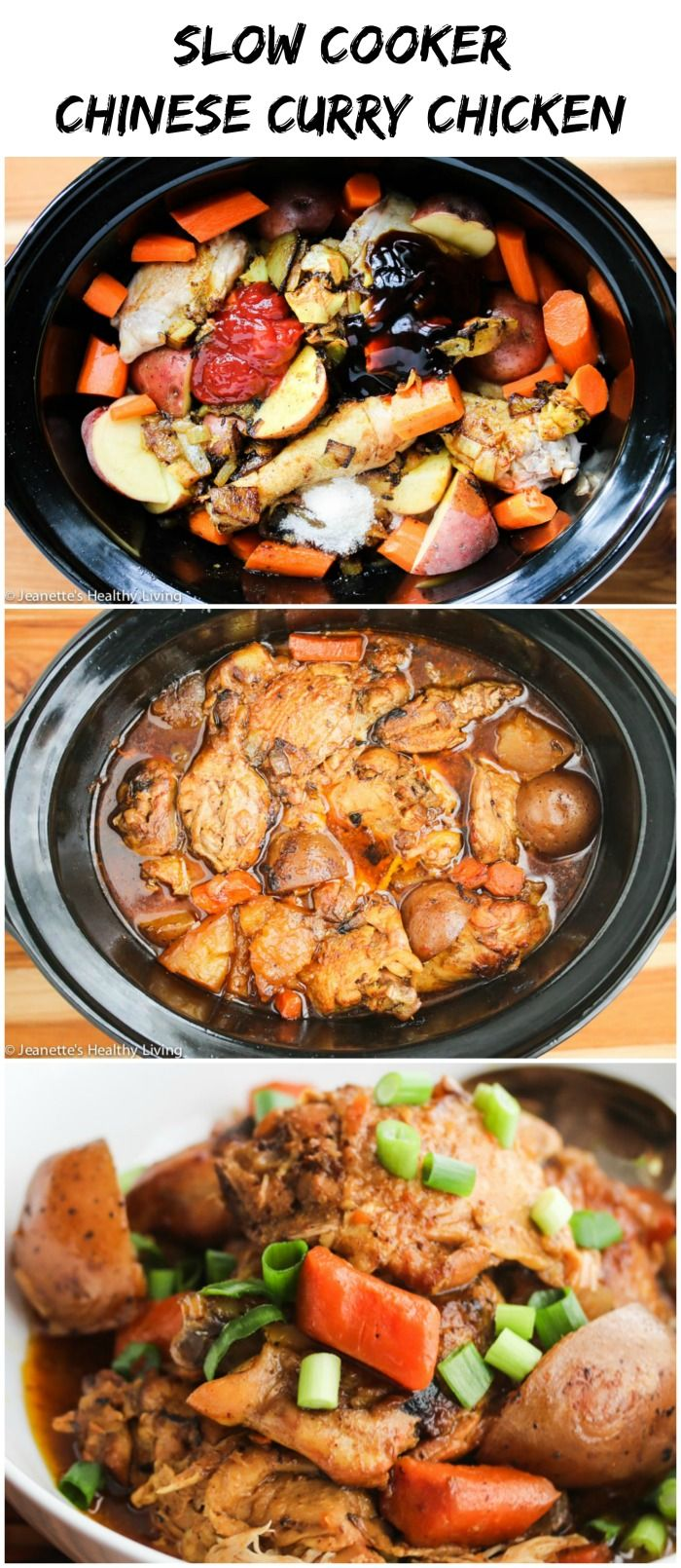 Slow Cooker Chinese Curry Chicken  Recipe  Healthy Slow -7299
