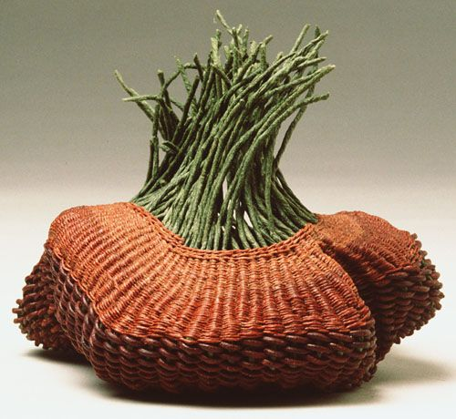 Basket Weaving Expression : Best contemporary baskets ideas on macrame