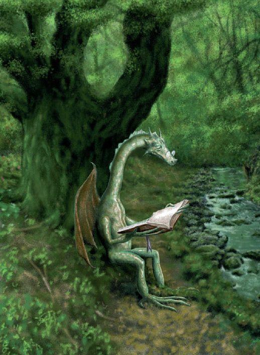 """Reading Dragon  """"-Es interesante, este Gilderoy Lockhart. Pero no me trago  eso de que existan los trolls. Qué imaginación"""""""