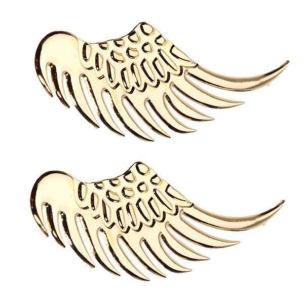 3D Alloy Metal Angel Hawk Wings Design Car Emblem Badge Decal Sticker