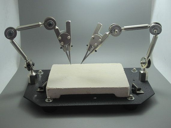 Double Third Hand Soldering Station, without the soldering board.