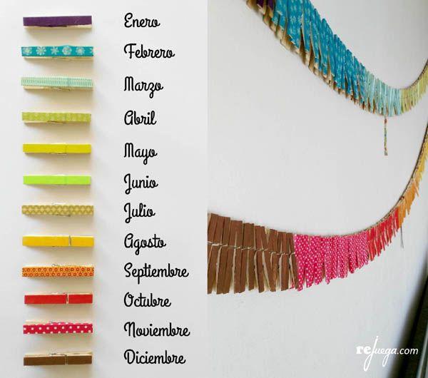 colores para la cadena anual montessori                                                                                                                                                                                 Más