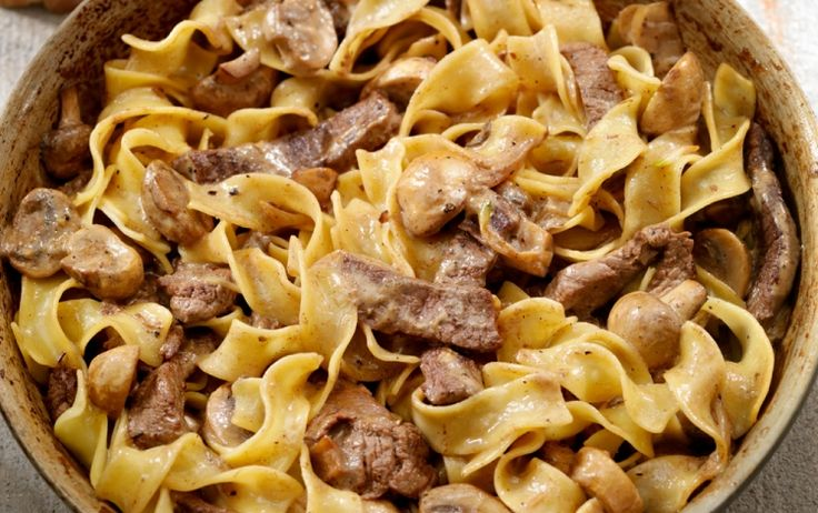 This stroganoff recipe is easy and delicious. This will become a common menu item in your households.