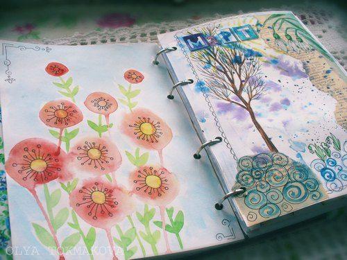 артбук, садовый журнал