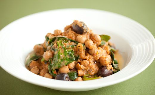 Epicure's Slow-cooker Lentil, Chickpea and Spinach Stew