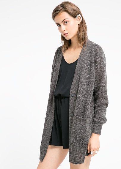 Cárdigan lana mohair