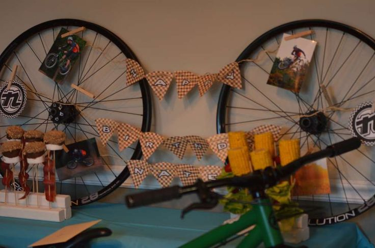 Nate's Kona Style Mountain Bike Dinner | CatchMyParty.com