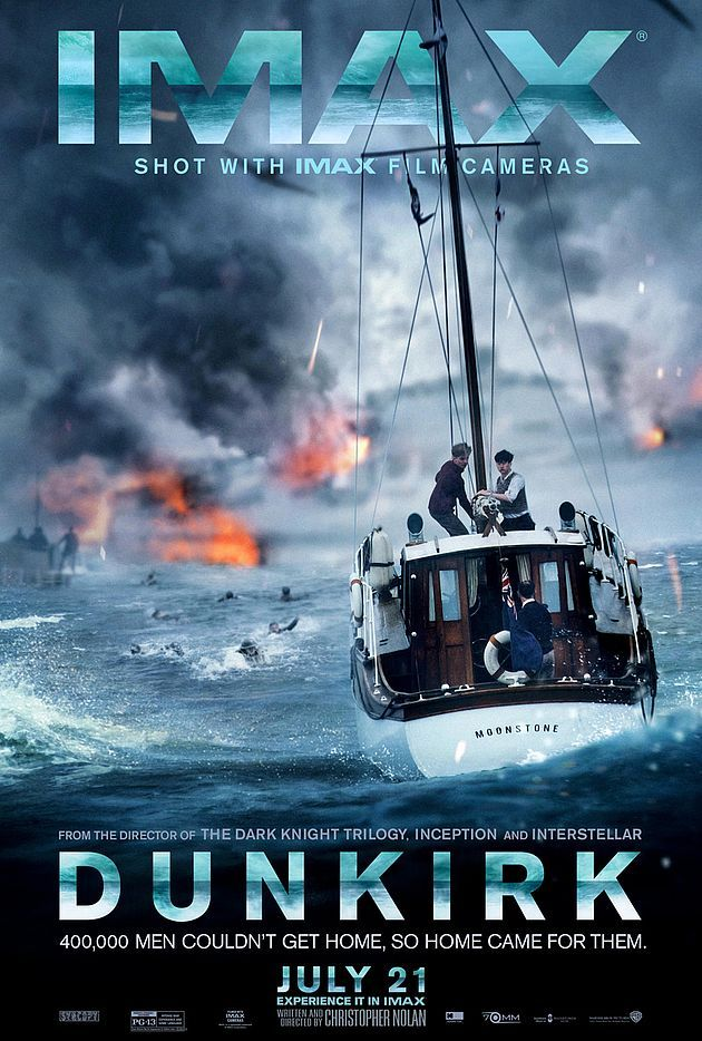 Dunkerque : L'affiche IMAX - Unification France