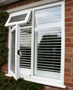 BallMann Security shutters. After many years supplying traditional wooden shutters we were continually being asked for an internal lockable shutter. Our response was to develop the BallMann Security Shutter. Made from high grade Aluminium and expertly powder coated in Satin White, it is both beautiful and durable. They work just as wooden shutters. The shutters can be hinged to fold to the sides, allowing cleaning and window adjustment. The louvers all move to allow light control…