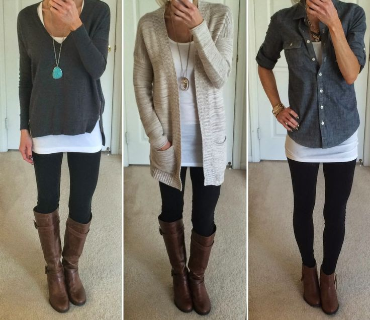 Outfits Black Leggings