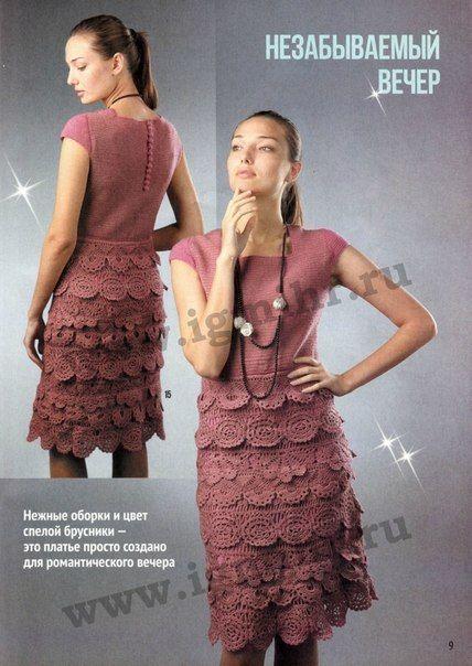Платье с фестонами - Платье.Сарафан