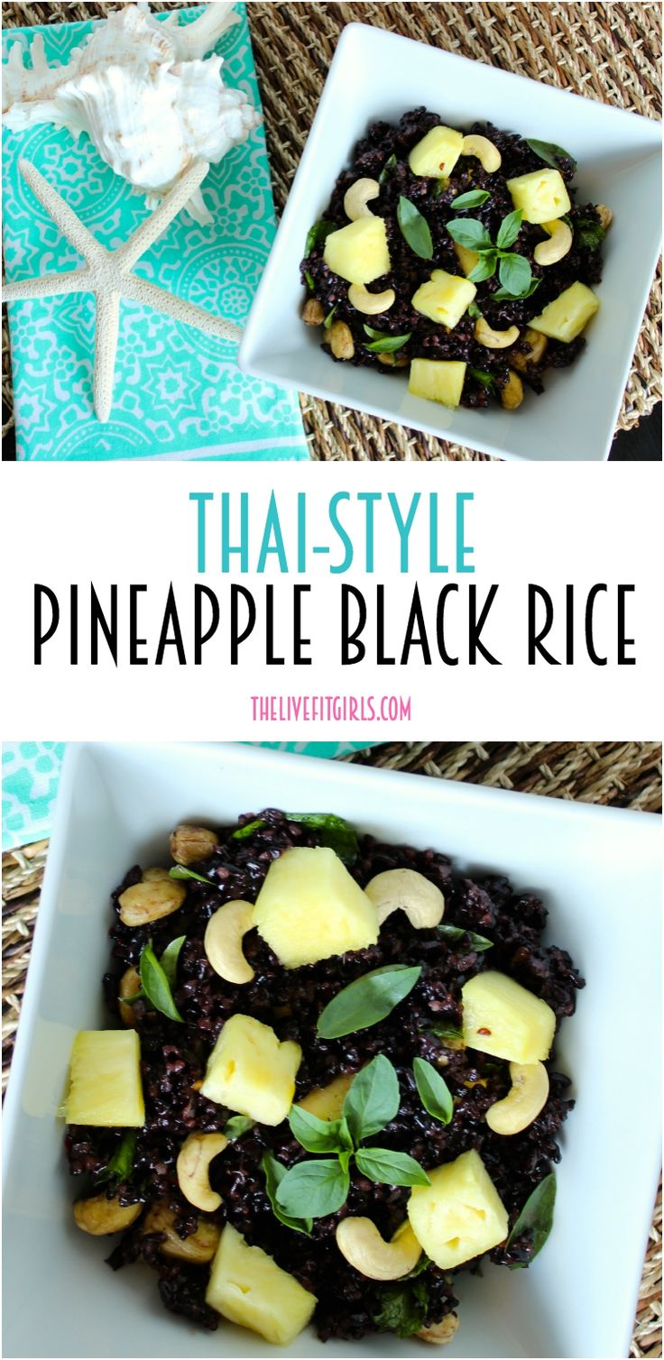 Black rice, Rice salad and Rice on Pinterest