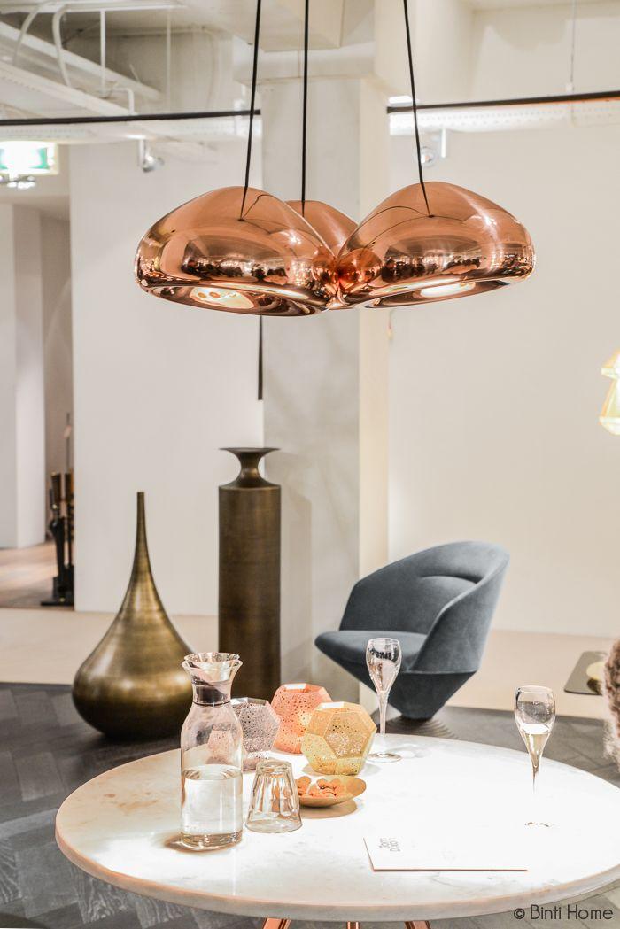 Void Copper lamp Tom Dixon Shop - Binti Home