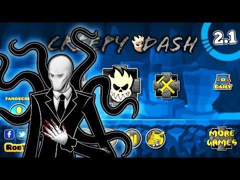 (158) CREEPY DASH TEXTURE PACK by Darkcray PARA GEOMETRY DASH 2.1 l PARA ANDROID l - YouTube