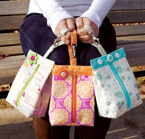 Suzy's Sack – A Simple Everyday Bag for Essentials on the Go - Sewing Pattern