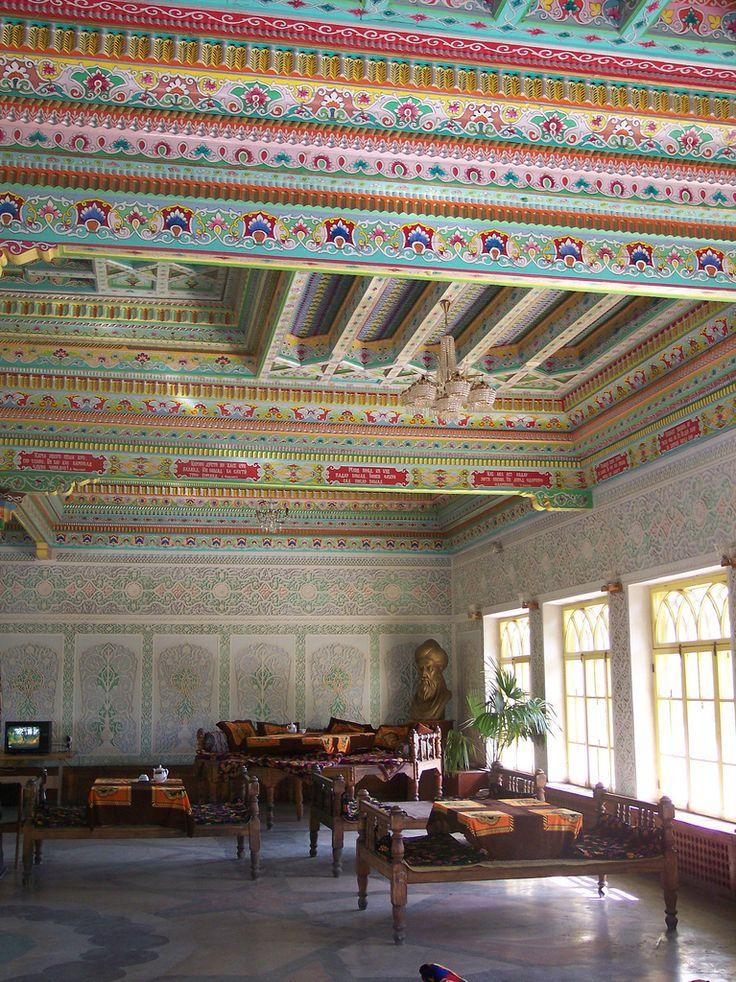 70 best Ceilings images on Pinterest | Blankets, Ceilings and ... Tajik Tea House Designs on