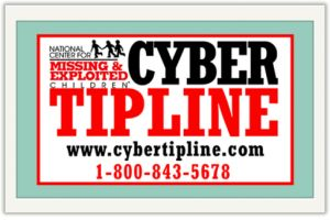 NCMEC CyberTipline: Being a father of two, I understand the true value of being a protective parent. Watching over your own children may be one thing, but looking after children who don't have someone to keep an eye on them is just as important.