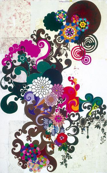 Beatriz Milhazes | http://yourartitude.com/en/contenporary-art/beatriz-milhazes