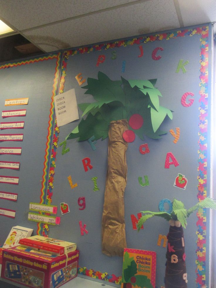 Chica Chica Boom Boom tree for our read levels tracker!
