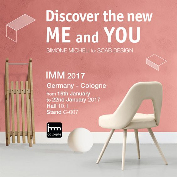 SCAB Design is waiting for you @ Imm - Cologne - from 16 to 22 January