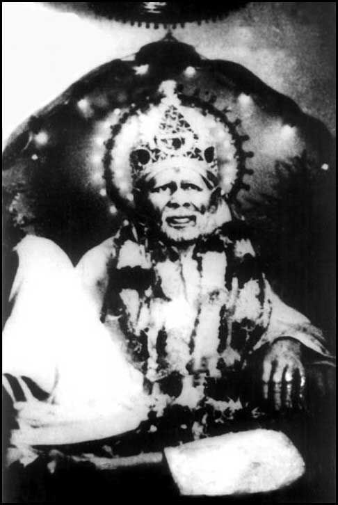 Shri shirdi sai baba original rare photo graph
