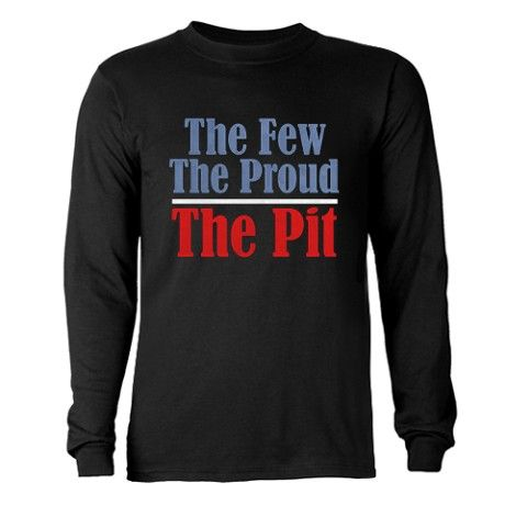 The Few. The Proud. The Pit. Long Sleeve Shirt - #marchingbandstuff #hornandcastle