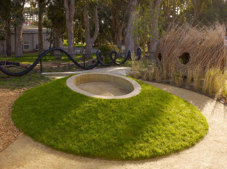 Cow Hollow School Natural Playscape, San Francisco California, Surface Design, 2010   Playscapes