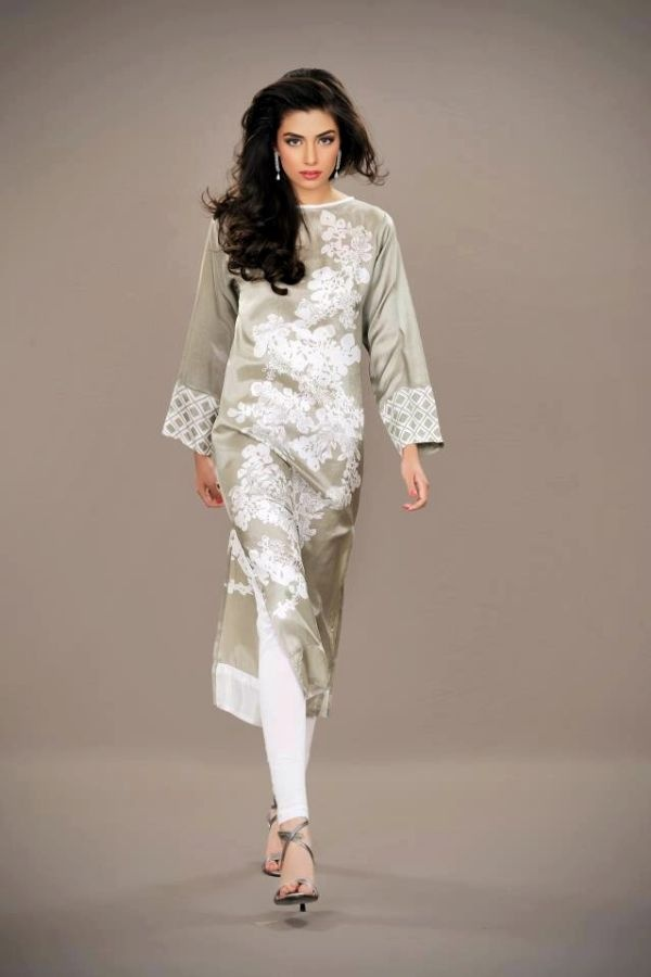 Pakistani Fashion Long #kurti
