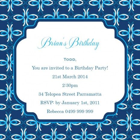 33 best 18th Birthday Invitations Inspirations images on