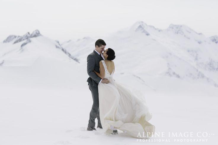Glacial Elopement Wedding by Alpine Image Company