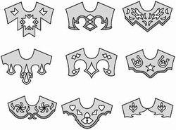 Use these unique yoke patterns to add interest to your jackets, horsemanship shirts and dresses.