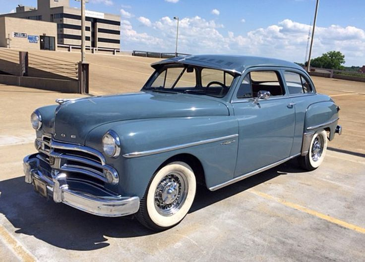 156 best dodge 1950 1955 images on pinterest old for 1950 dodge coronet 2 door