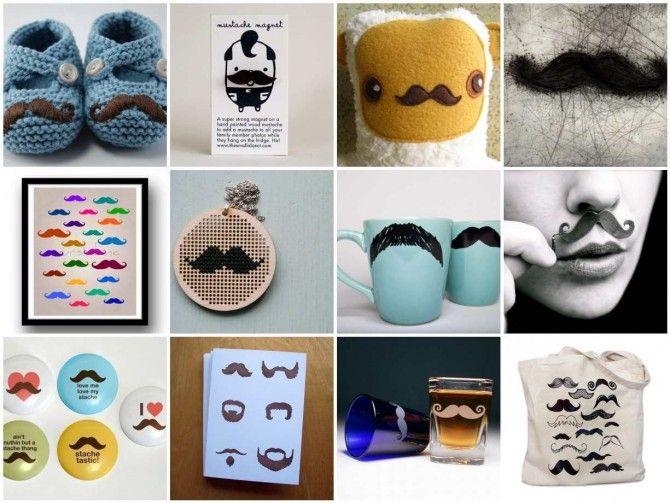 The Mustache Craft Craze « Lark Crafts Lark Crafts